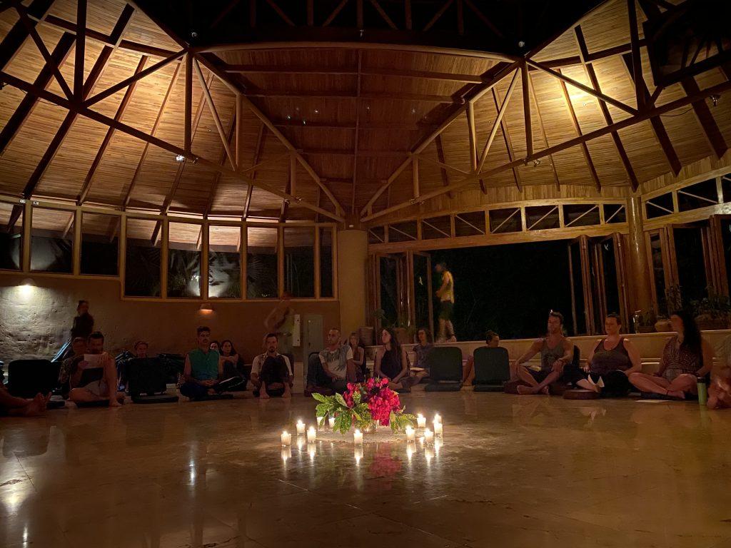 Osho Hall in Pachamama, Costa Rica